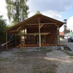 Fortsetzung Arbeiten an Holzlege, September _1