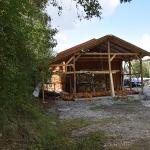 Fortsetzung Arbeiten an Holzlege, September _2