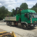 Fundamentbau und Umsetzen Fördermaschine Reichenbach_10