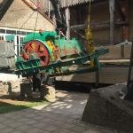Fundamentbau und Umsetzen Fördermaschine Reichenbach_12