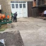 Fundamentbau und Umsetzen Fördermaschine Reichenbach_13