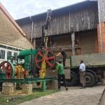 Fundamentbau und Umsetzen Fördermaschine Reichenbach_14