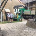 Fundamentbau und Umsetzen Fördermaschine Reichenbach_15