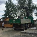 Fundamentbau und Umsetzen Fördermaschine Reichenbach_17