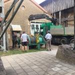 Fundamentbau und Umsetzen Fördermaschine Reichenbach_18