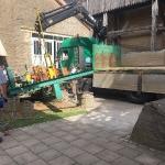 Fundamentbau und Umsetzen Fördermaschine Reichenbach_19