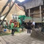 Fundamentbau und Umsetzen Fördermaschine Reichenbach_21