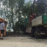 Fundamentbau und Umsetzen Fördermaschine Reichenbach_22