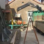 Fundamentbau und Umsetzen Fördermaschine Reichenbach_24