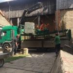 Fundamentbau und Umsetzen Fördermaschine Reichenbach_26