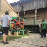 Fundamentbau und Umsetzen Fördermaschine Reichenbach_28