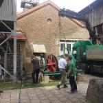 Fundamentbau und Umsetzen Fördermaschine Reichenbach_30