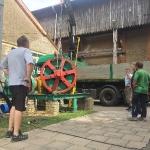 Fundamentbau und Umsetzen Fördermaschine Reichenbach_3