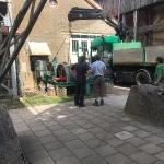 Fundamentbau und Umsetzen Fördermaschine Reichenbach_5