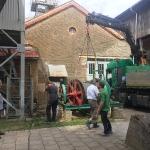 Fundamentbau und Umsetzen Fördermaschine Reichenbach_6