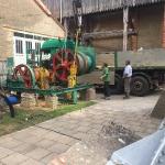 Fundamentbau und Umsetzen Fördermaschine Reichenbach_8