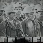 Innenansicht Museumshalle - der Arbeitskampf um Grubenstilllegung in Auerbach