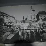 Grossdemo in Auerbach zur geplanten Grubenstilllegung (Museumsinnenraum)